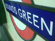 Bounds Green sign