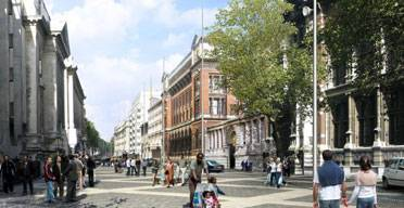 Impression of the Exhibition Road redesign