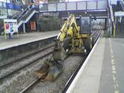 Equipment on the line at West Hampstead