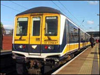 Photo of a Thameslink train